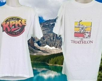 Vintage T-shirt, Mile High Triathlon, KPKE
