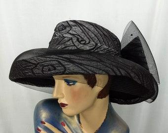 26f6965e727aa Wide brim church hat