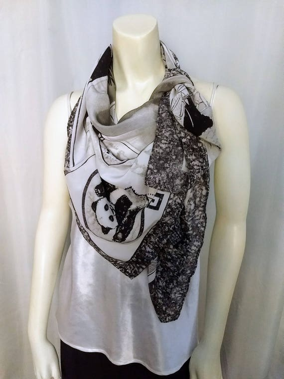 Large Designer SILK Scarf/Big Square Scarf,Pure Si