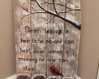 Cardinal heartache sign