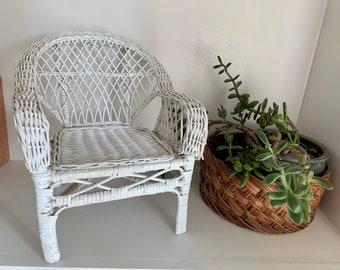 Egg Chair Rotan.Wicker Doll Chair Etsy