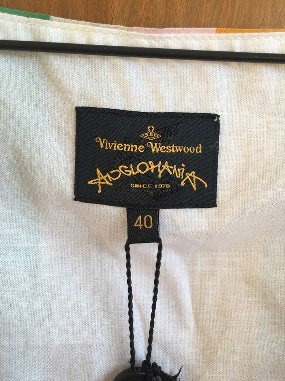 Vivienne Westwood Anglomania new with tags  silk … - image 6