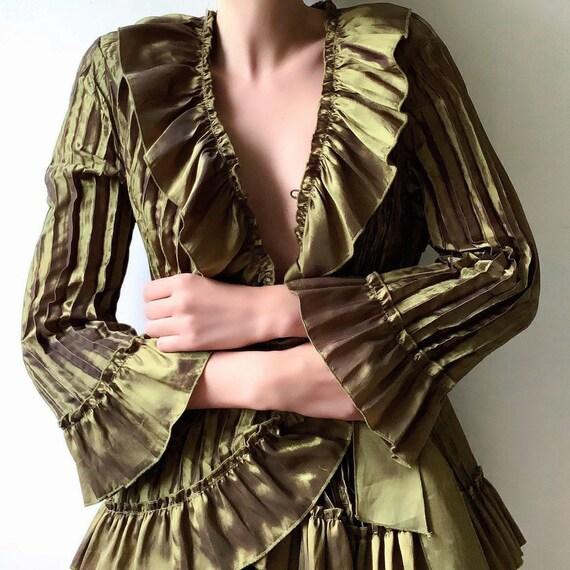Vintage 2000 Victorian blouse Edwardian blouse met