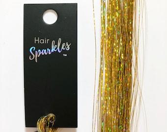 Yellow Sapphire Hair Sparkles® (Hair Tinsel)