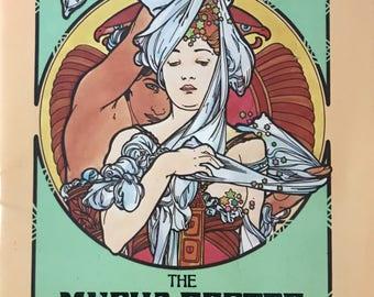 RARE Mucha Poster Coloring Book Ed Sibbet, Jr.  Women