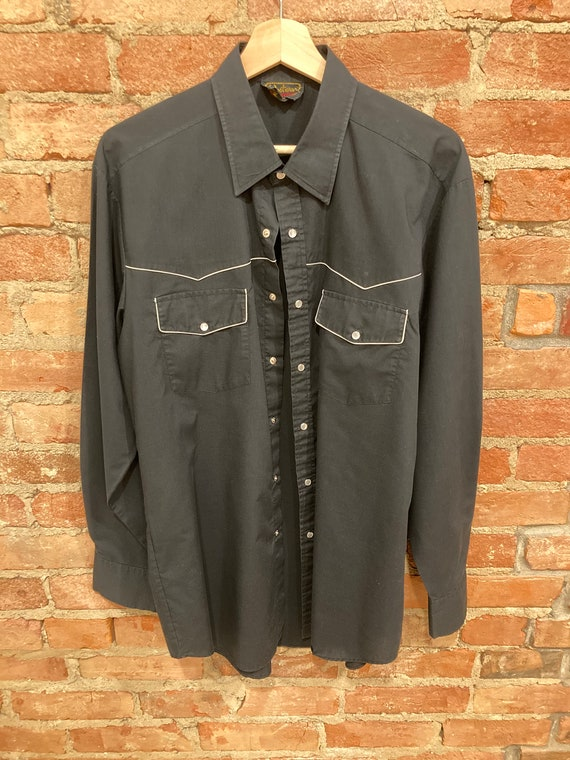Vintage Western Button up