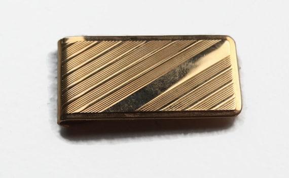 Vintage Money Clip, Gold Minimalist Money Clip, Vi