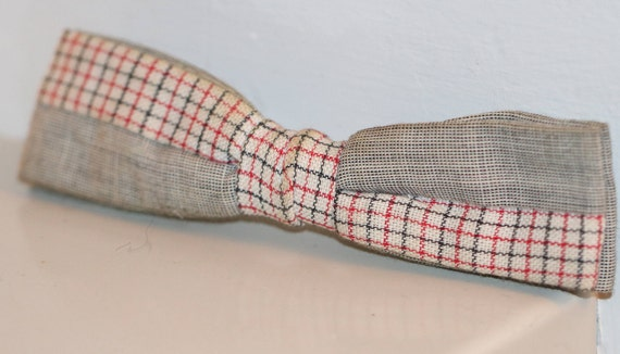 Vintage Bow Tie, 1950's Bow Tie, New Old Stock Bow