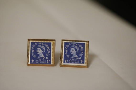 British Stamp Cufflinks