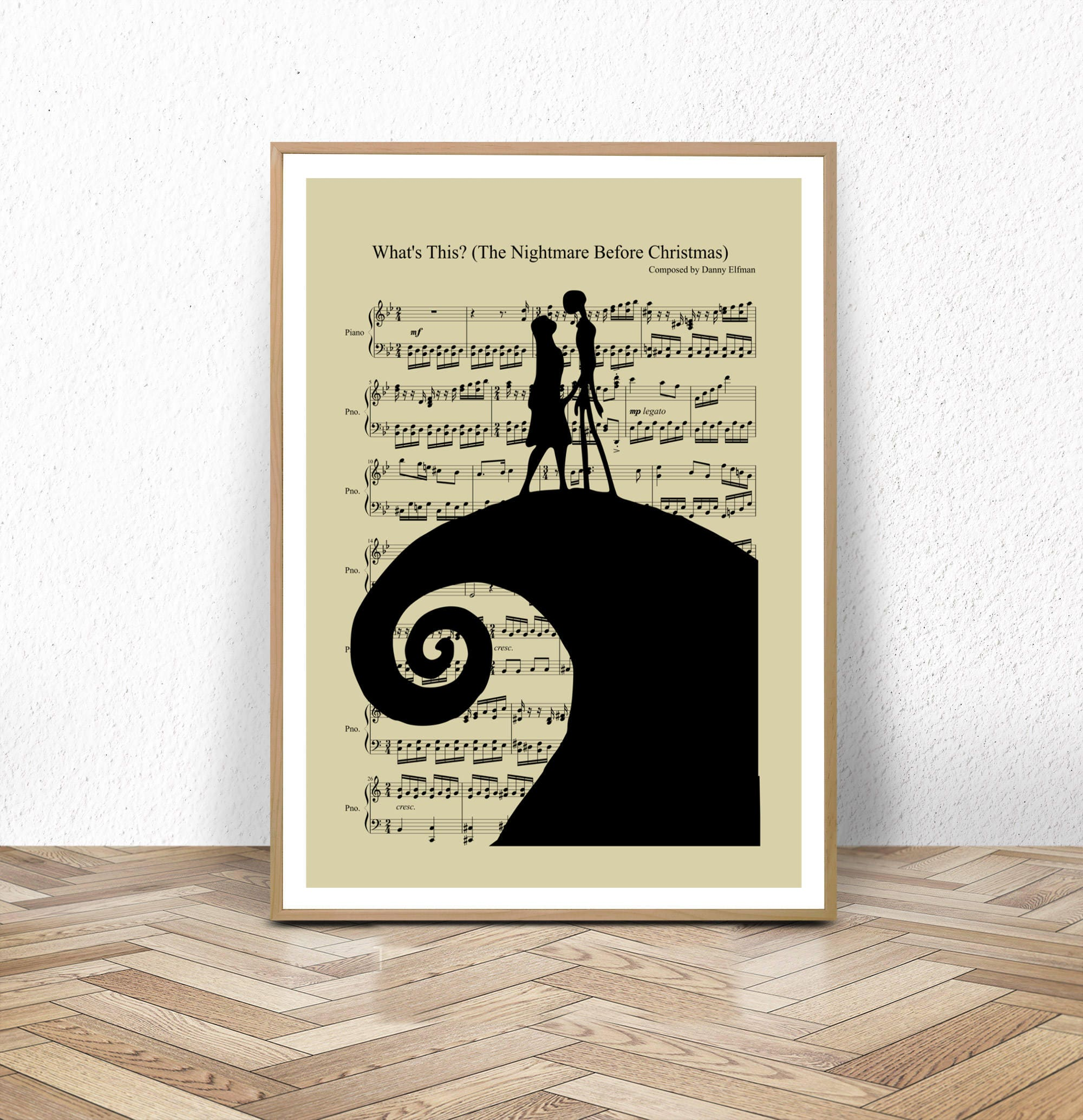 The Nightmare Before Christmas Halloween Jack and Sally | Etsy