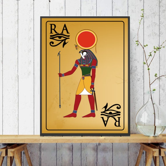 Ancient Egyptian Egyptian DecorRa Egyptian Wall Art eye of | Etsy