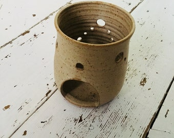 D'arcy Pottery - Stoneware - Tealight Candle Holder - studio pottery - vintage