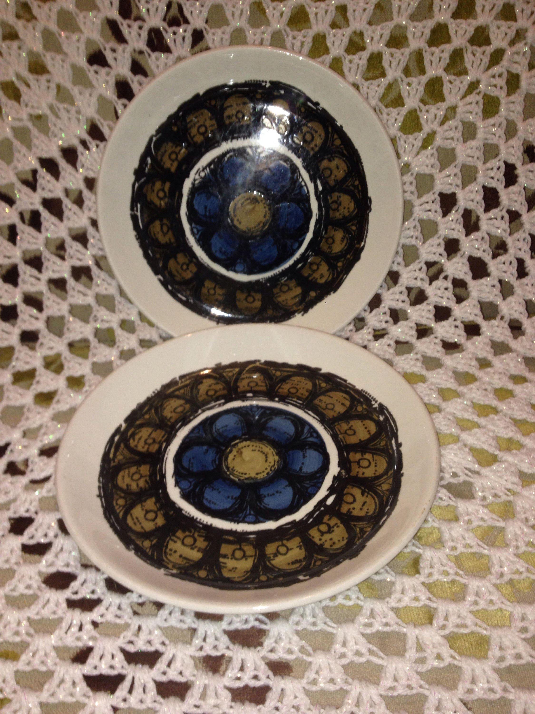 Biltons Tableware Ironstone Staffordshire England 2 x