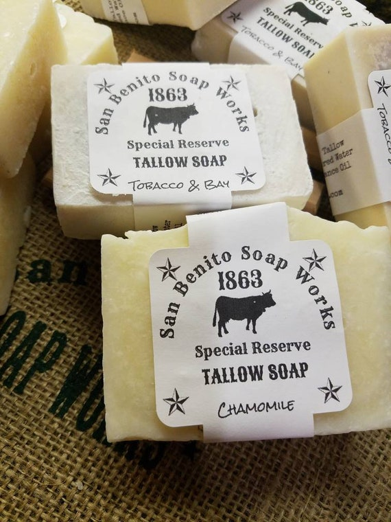 Old Fashioned Tallow Soap
