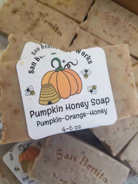 Pumpkin Honey Soap