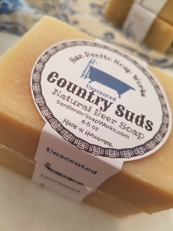 Country Suds Beer Soap