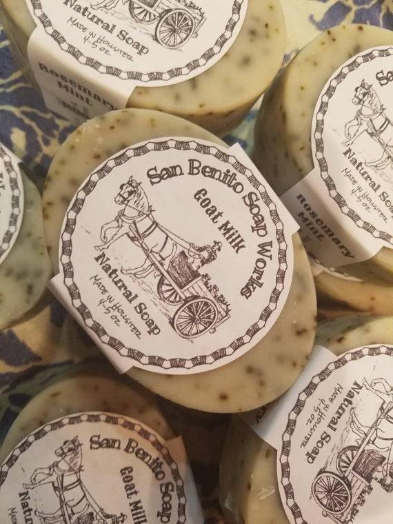 Goat Milk Soap Rosemary Mint