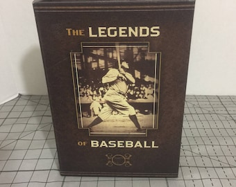 The Legends of Baseball nesting box. Nesting book box, babe Ruth. Good condition.