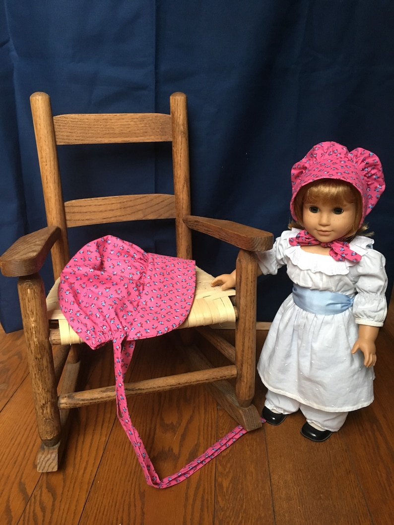 Matching Doll and Girls Bonnets Brand New American Girl image 0