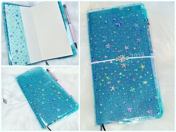 Sparkling star jelly covers sized for your favorite weekly planner!