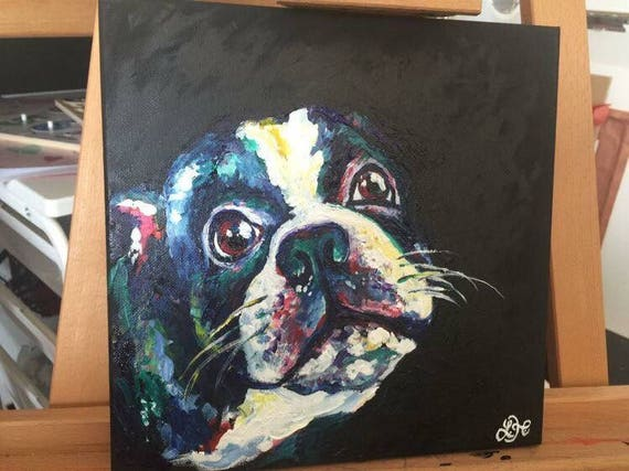 Custom Pet Portraits for the animal lover in your life!  Can be pencil, ink, acrylic, on paper or canvas, size of your choice. Message me!