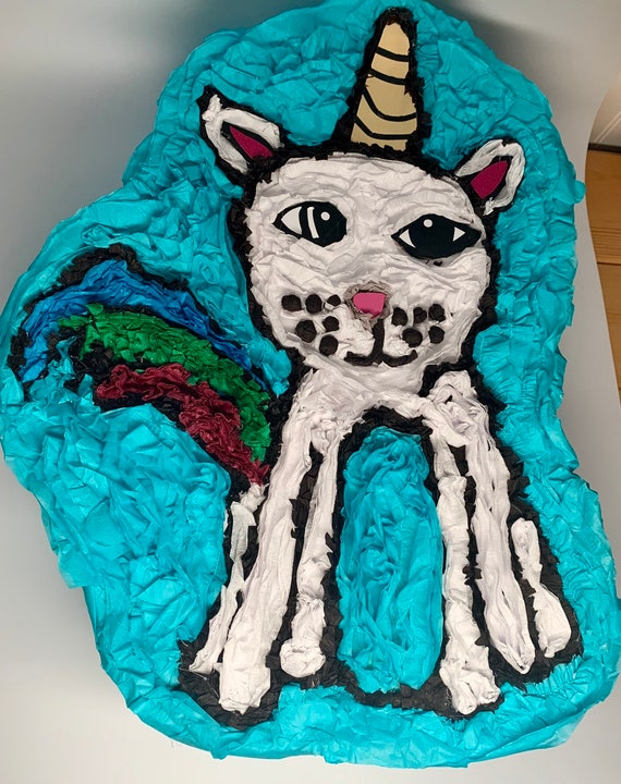 Custom piñata from child's drawing made to order!  Please send me a message with your idea and I will make it happen!