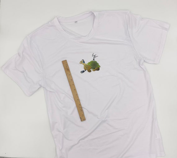 Morse the Tortoise Original Character Tee shirt adult men's size.  Perfect for ham radio enthusiasts!