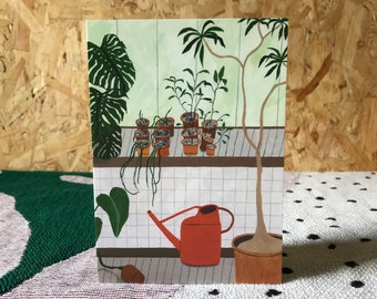 Barbican Conservatory Botanical Greeting Cards