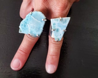 Larimar Cuff Ring * US/5-10