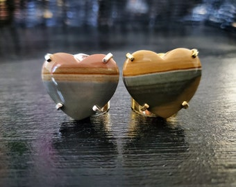 Mookaite Cuff Ring * US/5-10