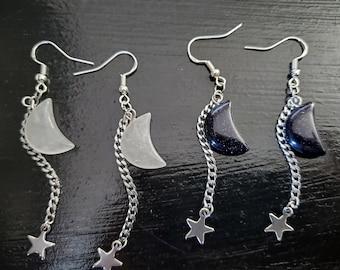 Night Sky Earrings