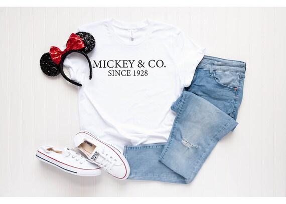 Mickey And Co. Shirt | Disney Vacation Shirt | Disney Shirt | Disney Tee | Women's Disney Shirt | DisneyWorld Shirt | Disney Land Shirt