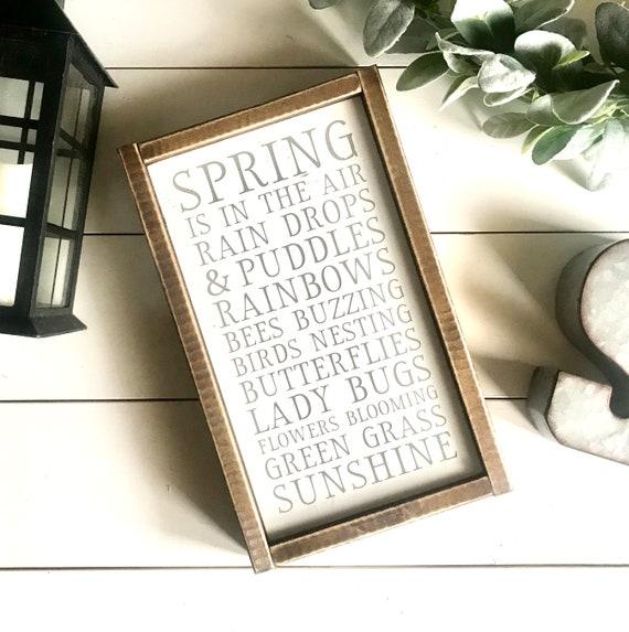 Farmhouse Sign | Spring Decor | Spring Subway Sign | Modern Farmhouse | Fixer Upper | Spring Signs | Farmhouse Spring Decor | Spring Sign