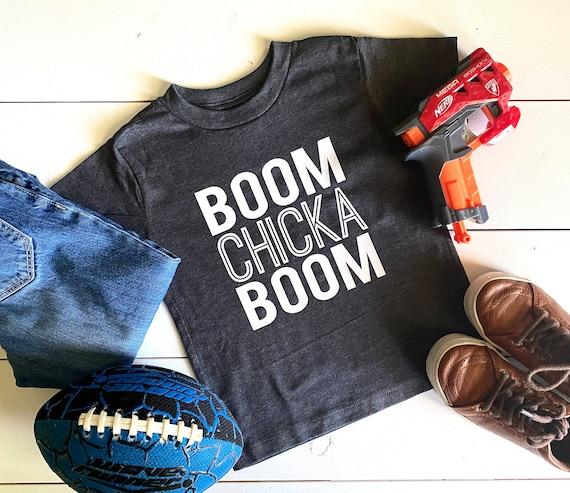 Kid's T-Shirt | Boom Chicka Boom Shirt | Kid's Shirt | Funny Kid's Shirt | Toddler Boy's Shirt | Toddler Girl's T-Shirt | Bella T-Shirt
