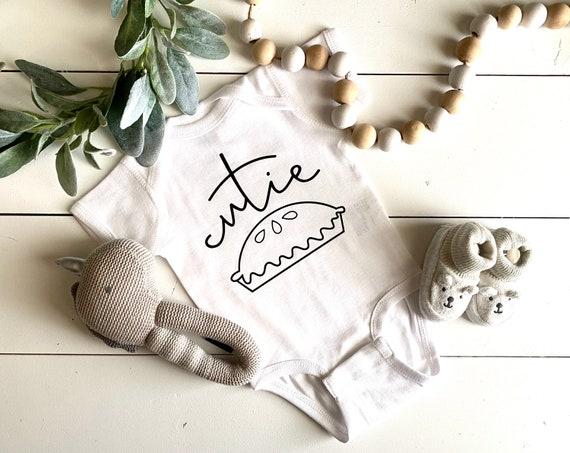 Infant Onesie | Cutie Pie Onesie | Thanksgiving Onesie | Funny Infant Onesie | Baby Onesies | Baby Shower Gift | Boy Onesie | Girl Onesie