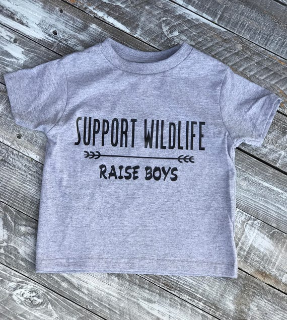 SUPPORT WILDLIFE Raise Boys Infant/Toddler T-shirt