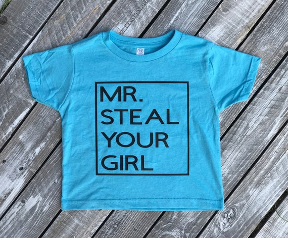 Mr. Steal Your Girl T-Shirt | Infant and Toddler Boy's T-Shirt
