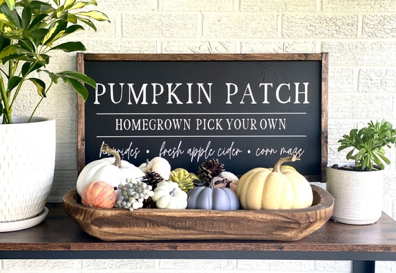 Farmhouse Sign | Pumpkin Patch Sign | Fall Sign | Autumn Sign | Pumpkin Sign | Pumpkin Patch | Modern Farmhouse | Fixer Upper | Fall Signs