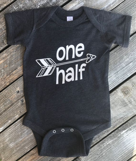 One Half Birthday Onesie | Half Birthday Apparel