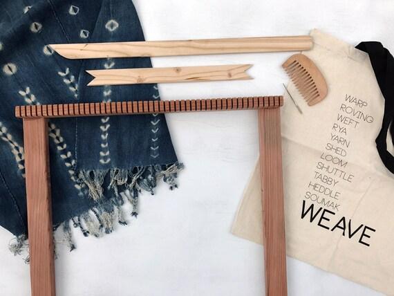 Large Frame Loom / Redwood /Weaving Loom Kit / The Big | Etsy