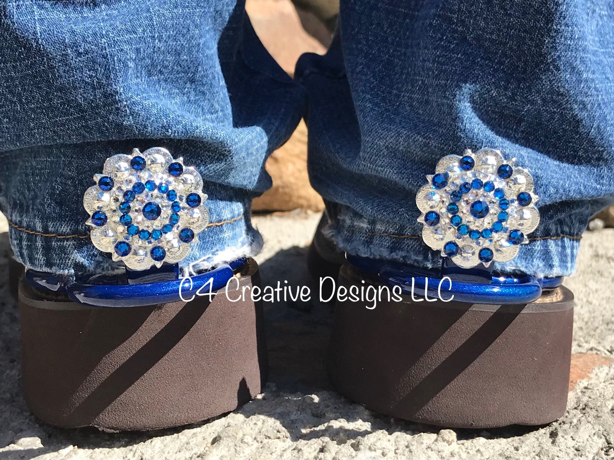 Rhinestone western wear accessories made with Swarovski  5156f3f481c