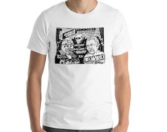 Lucha Libre Main Event Super Astro vs El Zorro de Oro T Shirt