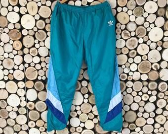 Adidas nylon pants | Etsy