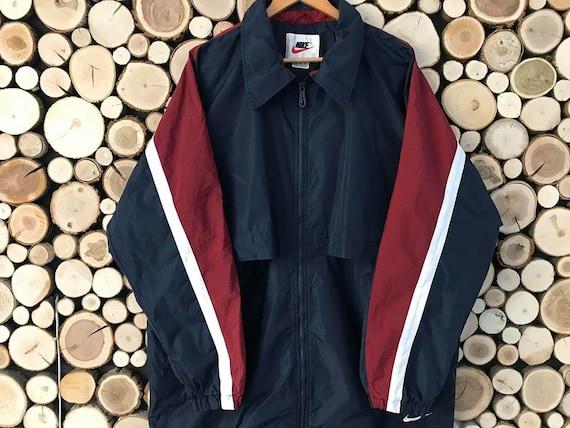 065223cfb47f8 Vintage homme veste Nike xl 90 s Veste homme veste dhiver   Etsy