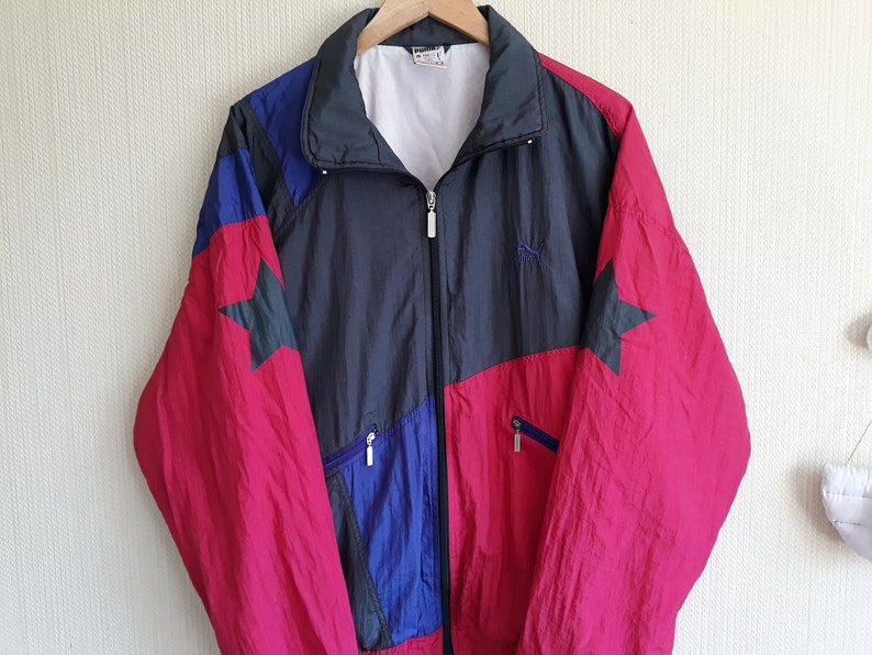 a47a7515e327 Vintage Puma windbreaker medium Puma Jacket women 90s