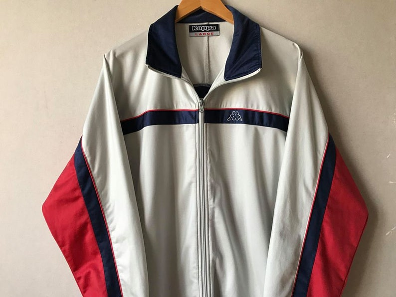 fb811194e Vintage windbreaker jacket Kappa windbreaker 90s Vintage Kappa windbreaker  men Kappa jacket large Kappa vintage jacket 90s windbreaker men