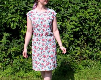Cute flower summer dress - Size M