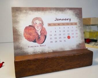 Literary calendar | Etsy