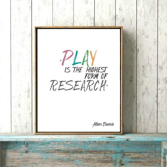 Albert Einstein Set Von 3 Drucken Klassenzimmer Pädagogisches Plakat Kreativität Imagination Play