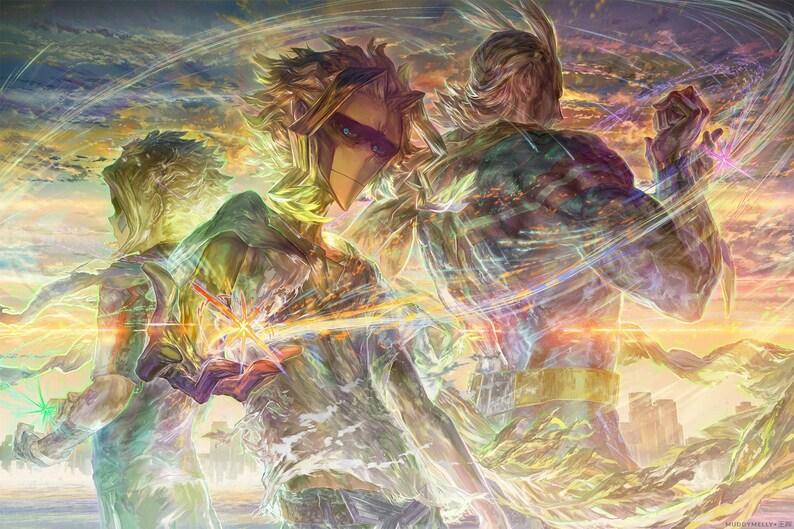 All Might 18x12 Poster Toshinori Yagi 八木俊典 From image 0